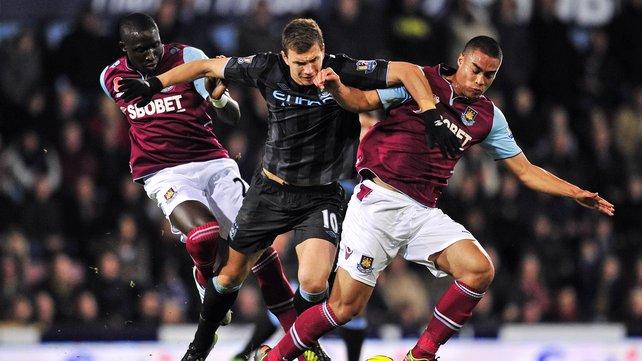 Английская Премьер-лига. 8-й тур. «Вест Хэм» — «Манчестер Сити» — 1:3. Хроника событий