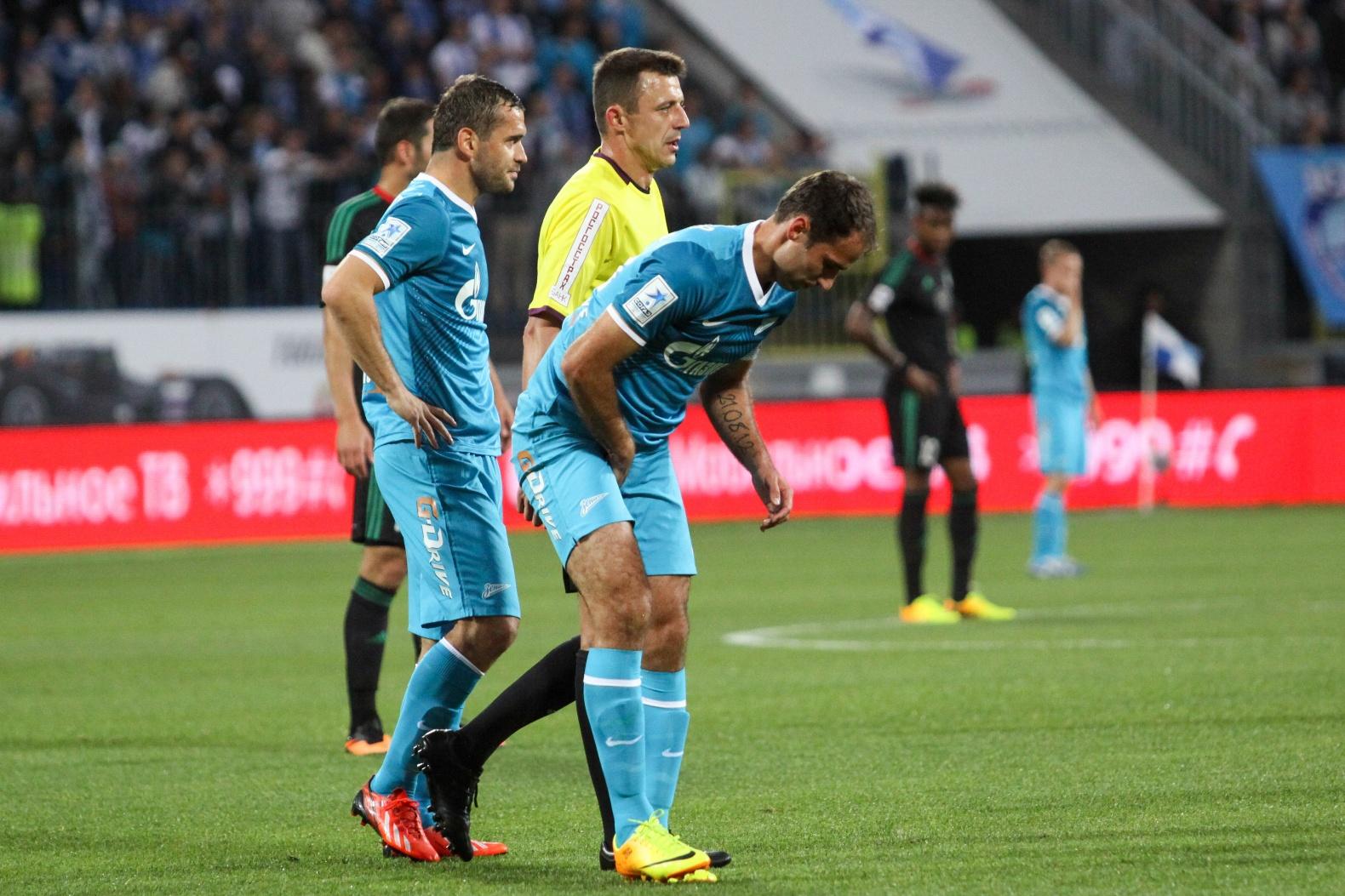 Топ-10 ярких моментов матча «Зенит» — «Терек»