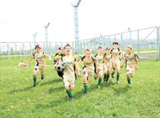 В Могилеве стартовал детский республиканский турнир «Кожаный мяч»