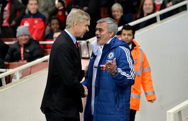 Arsenal v Chelsea. Premier League fixtures.