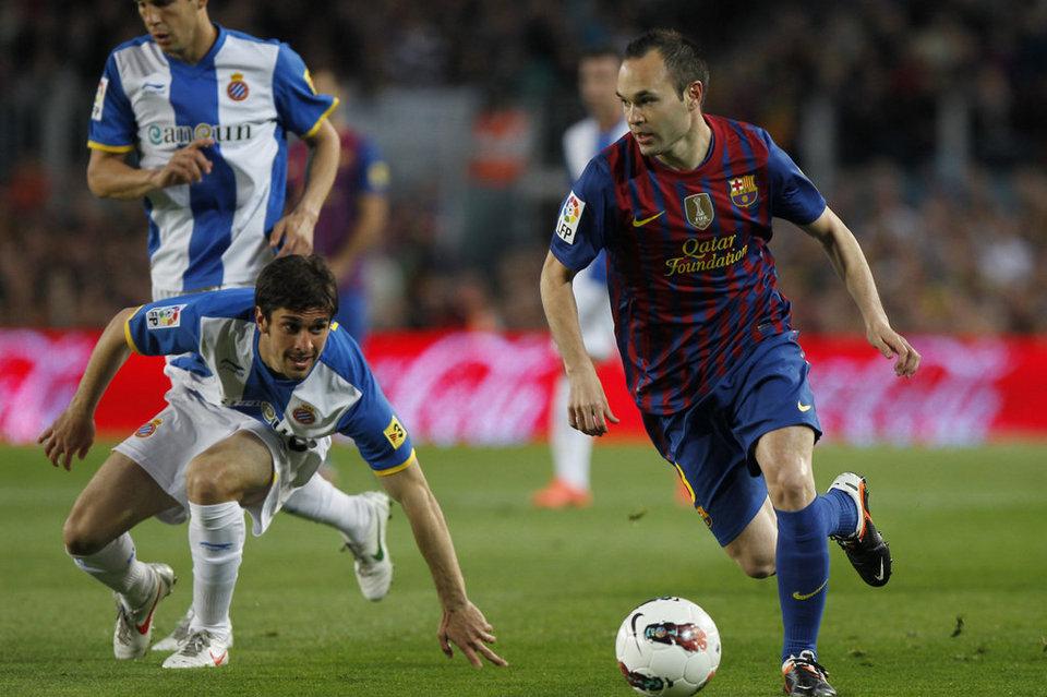 Испанская Ла лига. 12-й тур. «Барселона» — «Эспаньол» — 1:0. Хроника событий