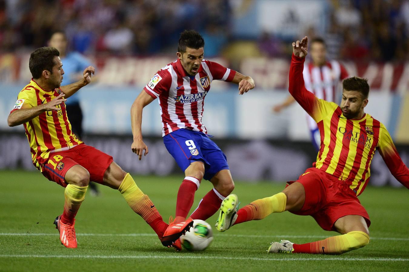 Испанская Ла лига. 19-й тур. «Атлетико» — «Барселона» — 0:0. Хроника событий