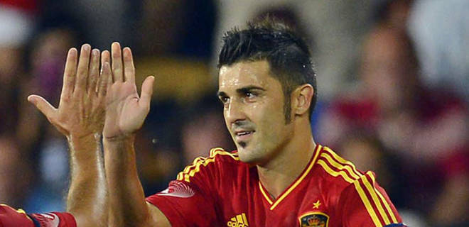 Del Bosque: Villa is the best Spanish goalscorer
