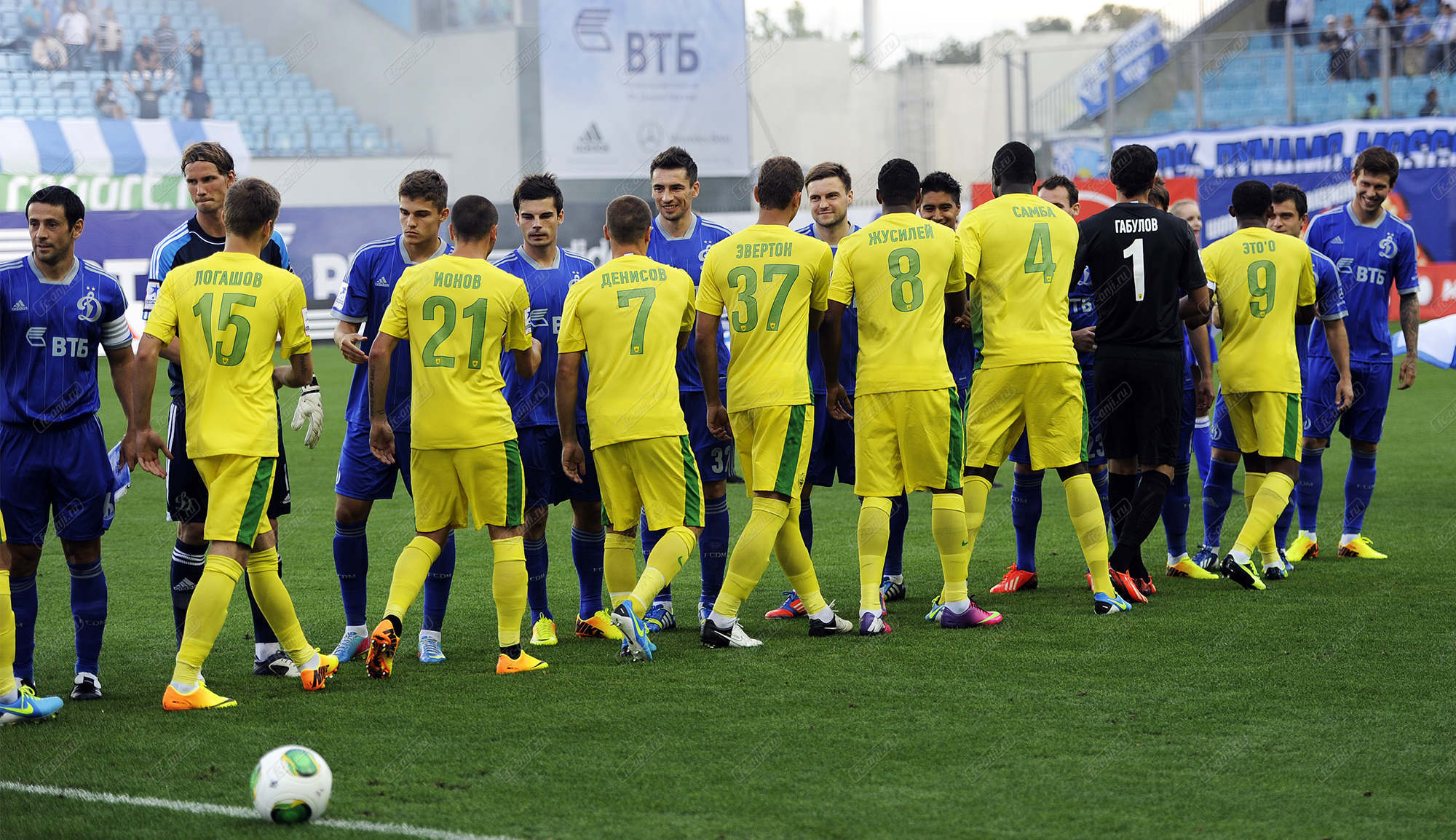 Габулов, Самба и Ионов представлены в качестве игроков «Динамо»