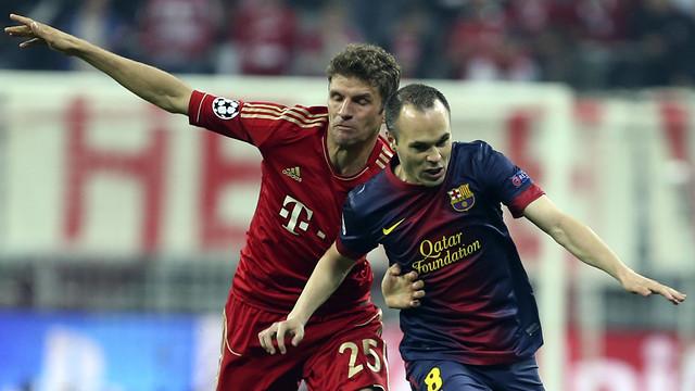 Лига чемпионов-2012/13. Полуфинал. «Барселона» — «Бавария» — 0:3. Хроника событий