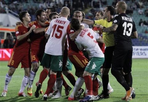 Федерация футбола Армении опротестовала ряд моментов отборочного матча с Болгарией