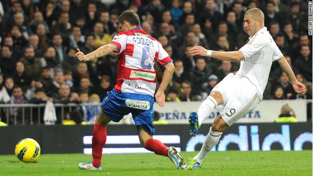 Испанская Ла лига. «Реал» — «Гранада» — 2:0. Хроника событий