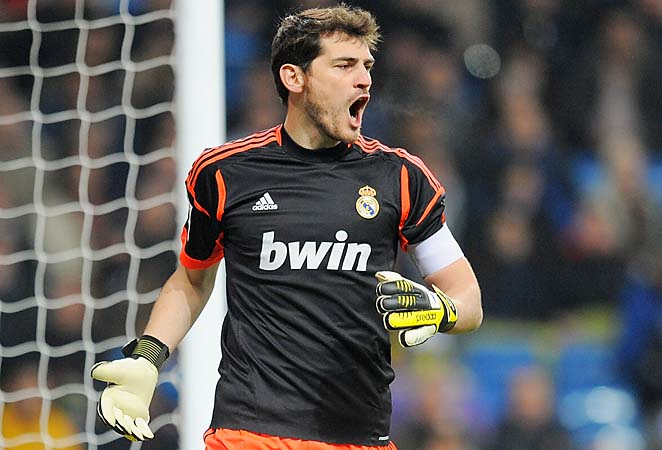 Casillas is sidelined for three months