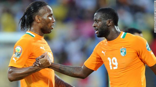 Яя Туре и Дрогба претендуют на звание лучшего игрока Африки по итогам 2013 года