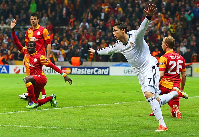 Champions League highlights: Galatasaray 3-2 Real Madrid (3-5 on aggregate)