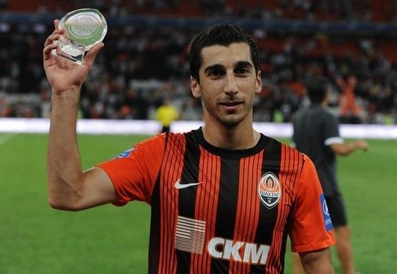 Мхитарян признан лучшим игроком УПЛ-2012/13