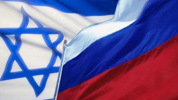 Сборная России выигрывает у израильтян после первого тайма