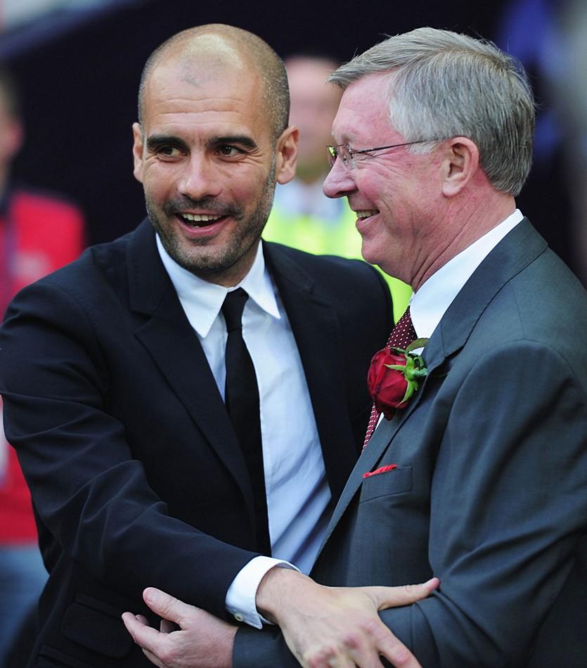 Фергюсон предложил Гвардиоле возглавить «Манчестер Юнайтед»
