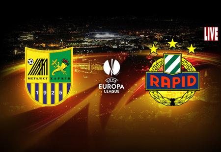 Лига Европы-2012/13. Группа «К». «Металлист» — «Рапид» — 2:0. «Победа на классе»