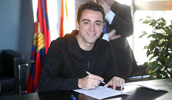 Xavi is Barca symbol