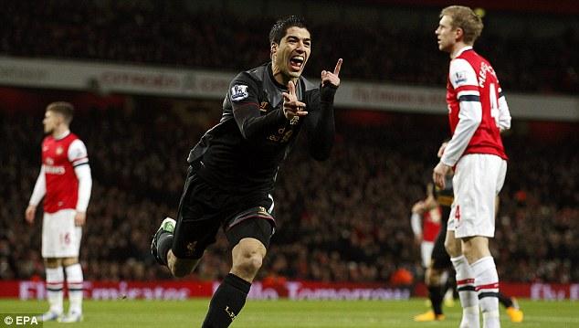 «Арсенал» повысил предложение по Суаресу до 42 миллионов фунтов