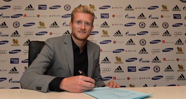 Шюррле подписал пятилетний контракт с «Челси»