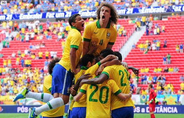 Товарищеский матч. Бразилия — Португалия — 3:1. Хроника событий