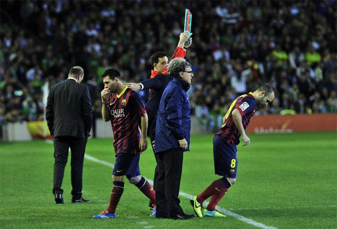 Испанская Ла лига. Пять несчастий 13-го тура