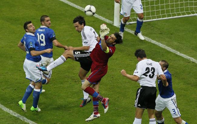Товарищеские матчи. Италия — Германия. Онлайн-трансляция начнется в 23.45