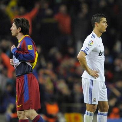 Real Madrid versus Barcelona 2-2, a showdown of strength