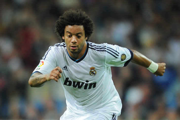 Real's Marcelo sidelined with foot injury