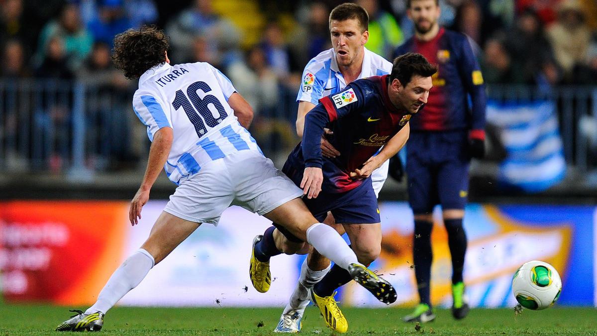 Испанская Ла лига. 21-й тур. «Барселона» — «Малага» — 3:0. Хроника показательного выступления