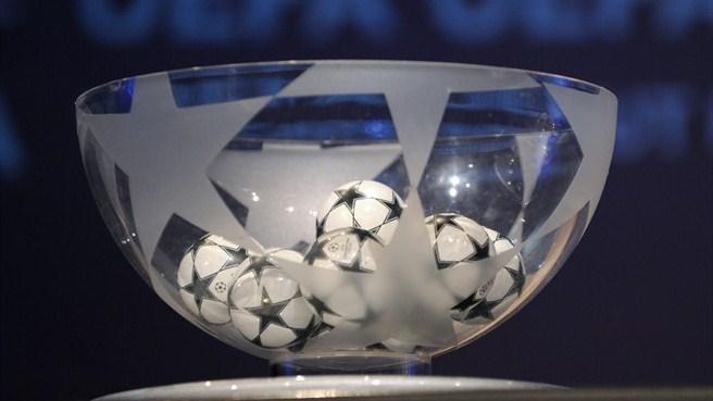 Жеребьевка Лиги чемпионов. Результаты