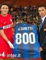 Хавьер Занетти сыграл за «Интер» 800 игр