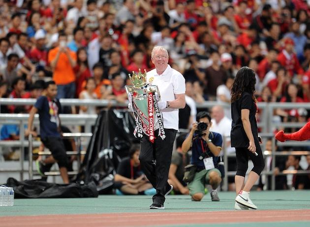 «Манчестер Юнайтед» гастролирует в Азии с двойником Фергюсона