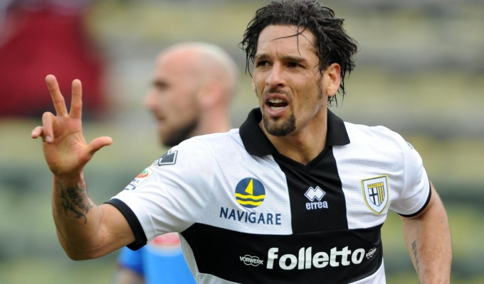 Parma want to keep Amauri for the next season