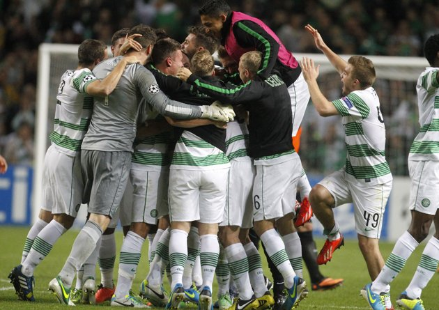 Celtic make it to the Champions League