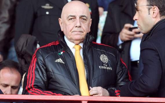 Адриано Галлиани: «Мы полностью поддерживаем Аллегри»