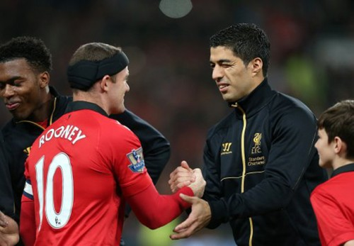 Luis Suarez returns to action as Manchester United restore dignity in the Capital One Cup