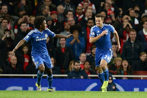 Chelsea and Manchester United are through to the Capital One Cup quarterfinals