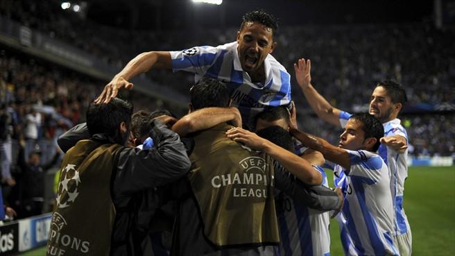 Champions League 2012/13. 1/8 de final. Oporto vs Málaga. Pronóstico. 90 minutos impredecibles