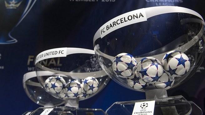 Лига чемпионов-2013/14. «Барселона» в 1/8 финала сыграет с «Манчестер Сити»