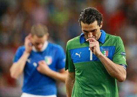 Комментарии итальянских игроков после фиаско в финале Евро-2012