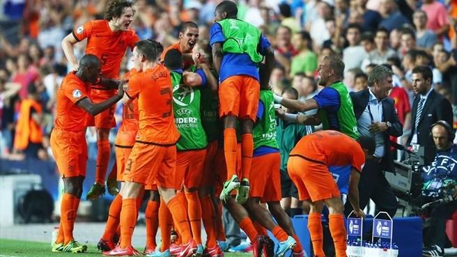 Чемпионат Европы (U-21). Сборная Голландии вырвала победу в матче с командой Германии
