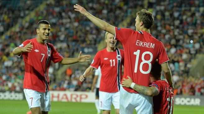 Чемпионат Европы (U-21). Норвегия — Италия. Онлайн-трансляция начнется в 20.00