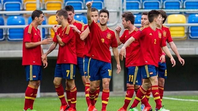 Чемпионат Европы (U-19). Группа «А». Литва — Испания — 0:2. Хроника событий