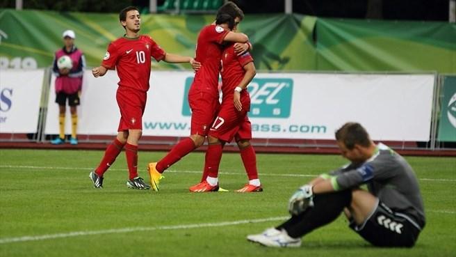 Чемпионат Европы (U-19). Полуфинал. Сербия — Португалия. Онлайн-трансляция начнется в 17.30