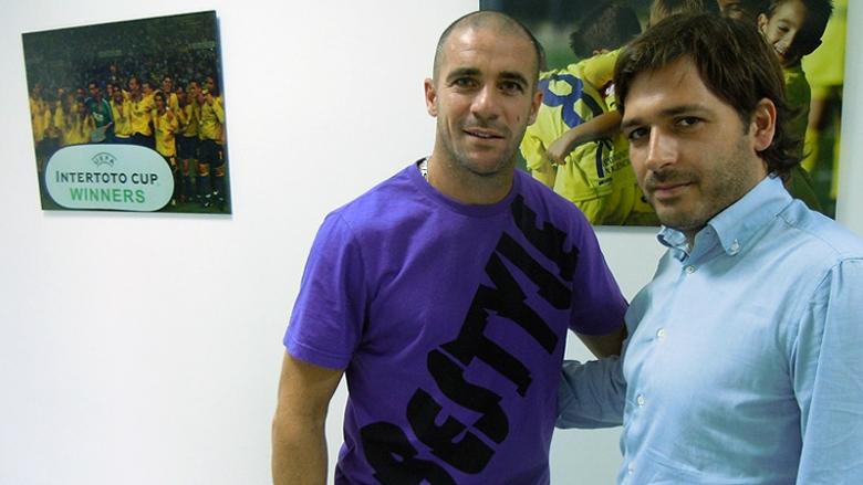 Вальтер Пандиани подписал контракт с командой из Сегунды