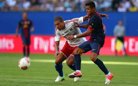 «Барселона» одолела «Гамбург» в товарищеском матче