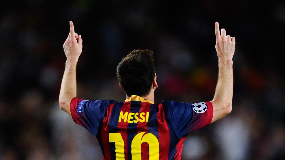 Лига чемпионов-2013/14. «Барселона» благодаря хет-трику Месси разгромила «Аякс»