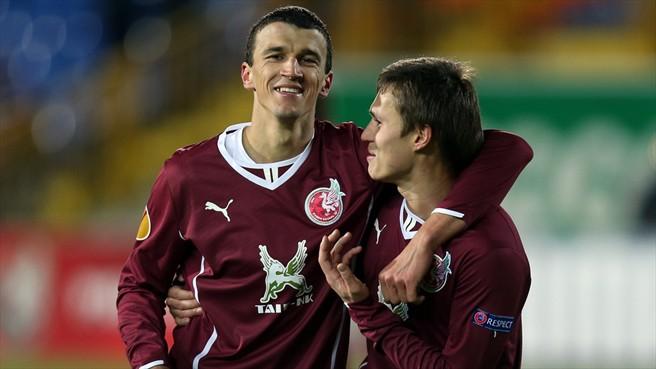 Лига Европы-2013/14. «Уиган» — «Рубин» — 1:1. Хроника событий