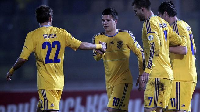 Стала известна заявка сборной Украины на матч с французами