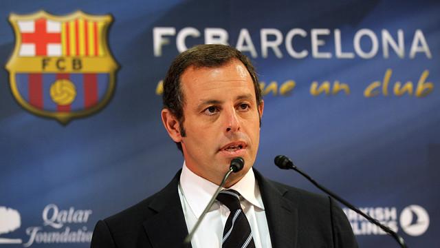 Росель покинул пост президента «Барселоны»