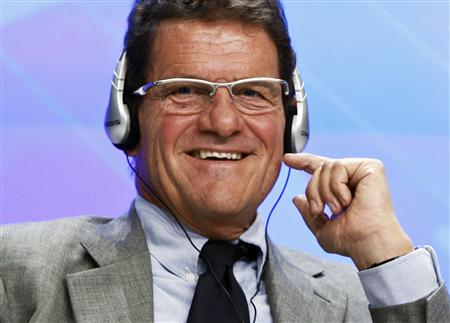 Fabio Capello was officially presented as Russia manager