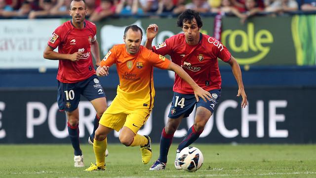 Испанская Ла лига. 9-й тур. «Осасуна» — Барселона». Прогноз. «Наваррские трудности»